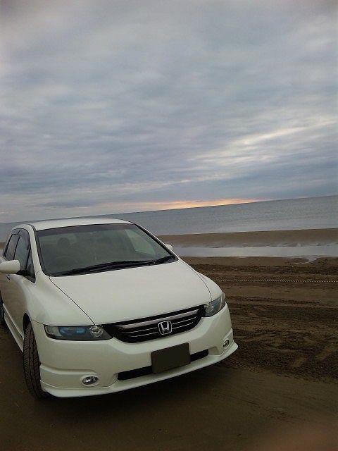 千里浜砂浜
