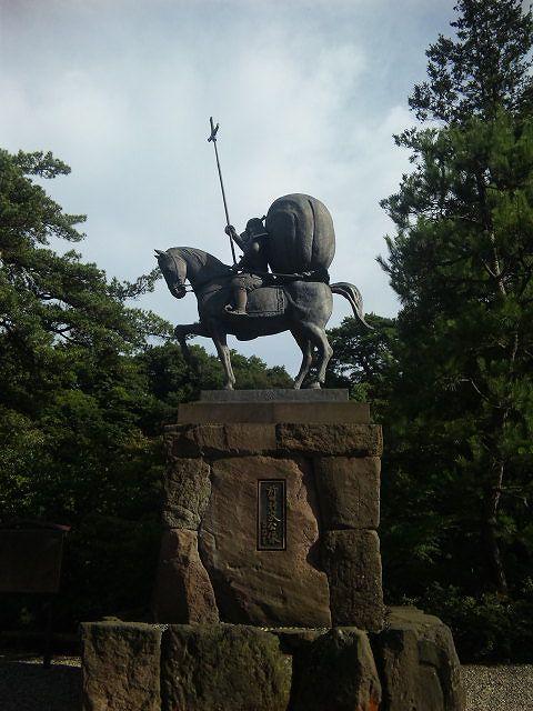 尾山神社前田利家
