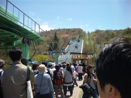 芝桜の丘スキーリフト