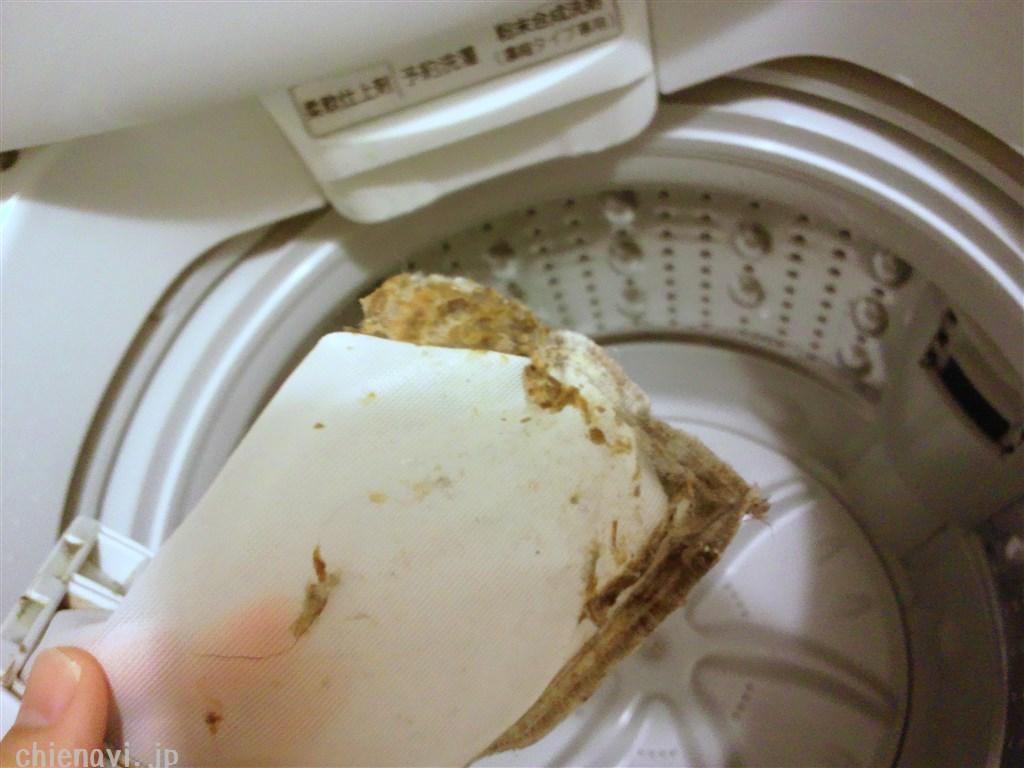 洗濯槽のごみ