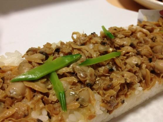 渥美のあさりの押し寿司