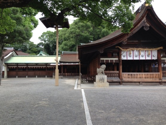 国府宮神社門