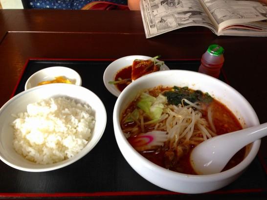 市ちゃん飯店担担麺