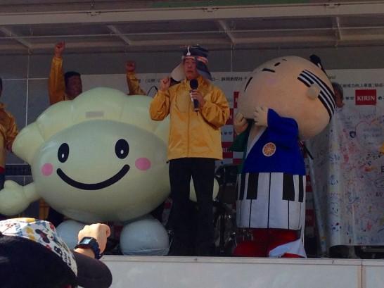 浜松餃子b-1グランプリ出陣式