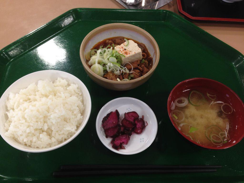 多摩川競艇もつ煮込み定食