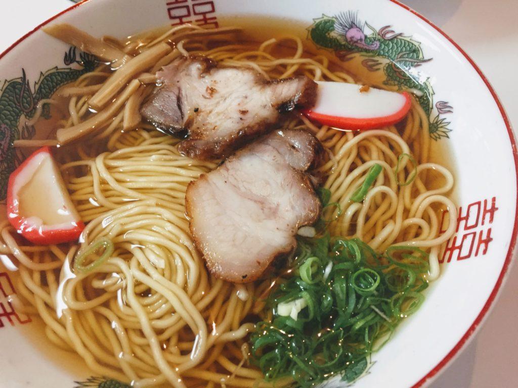 大垣朝日屋の中華麺